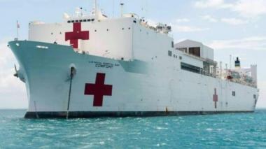 Buque-hospital de Armada de EEUU atenderá gratis en Santa Marta