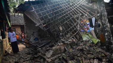 El terremoto dejó cientos de familias afectadas
