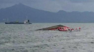 Once muertos y tres desaparecidos deja tres naufragios en Filipinas