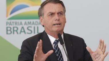 Jaír Bolsonaro, presidente de Brasil