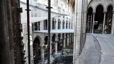 Alcaldía de París trata de tranquilizar sobre contaminación por plomo en Notre Dame