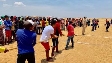 Dimar celebra Día de la Gente de Mar con comunidades wayuu