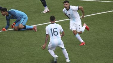 Carlos Valenzuela anotó el segundo tanto de penal.