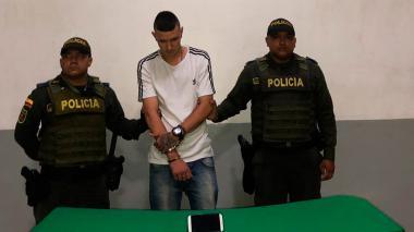 En video  Por GPS de celular, capturan a 'el Tigre' con vehículo robado en norte de Barranquilla
