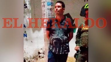 En video | Recapturan interno fugado de la Cárcel Distrital El Bosque