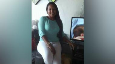 Claudia Inés Cantillo Ortega, asesinada de tres tiros en el interior de su vivienda.