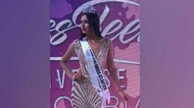 Atlántico gana concurso Miss Teen Universe Colombia