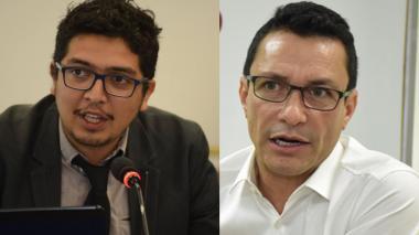 Pedro Vaca y Carlos Caicedo.