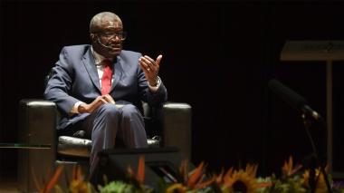 Denis Mukwege, nobel de paz 2018.