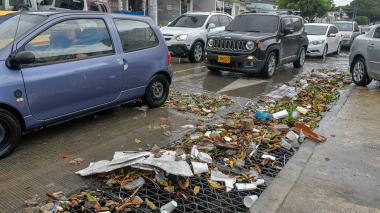 Emergencias por lluvia en varios sectores de Barranquilla