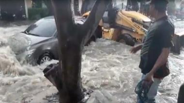 En video | Reportan lluvia en distintos sectores de la ciudad