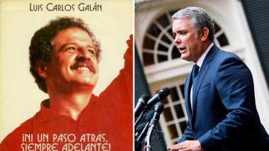 """""""Recordar sus ideas nos motiva para seguir en la lucha contra el narcotráfico"""": Duque sobre Galán"""