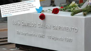 Las redes sociales recuerdan a Galán 30 años después de su muerte