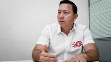 William Torres, candidato a la Alcaldía de Soledad.