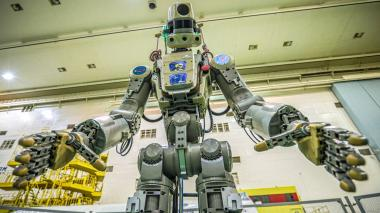 En video | Rusia envía al espacio a su primer robot humanoide