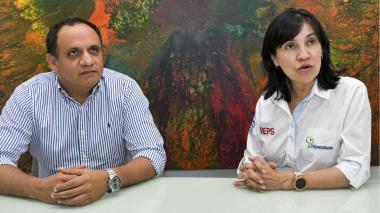 José David Márquez y Alexandra Hernández.