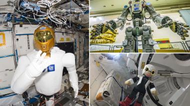 En video | Fedor, el robot humanoide ruso, se acopla a la estación espacial