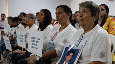 Reconocen a víctimas de desaparición forzada