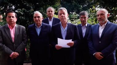 En video | Santos pide a la JEP que expulse a los desertores de las Farc