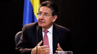 Néstor Humberto Martínez, ex fiscal General de la Nación.