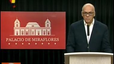 Jorge Rodríguez, ministro de Comunicación