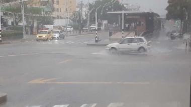 En video | Barranquilla se bañó en el primer aguacero de septiembre