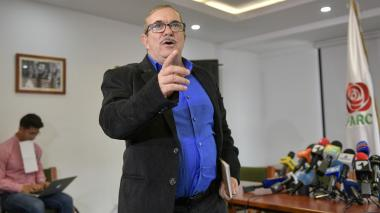 Rodrigo Londoño, jefe del partido Farc.