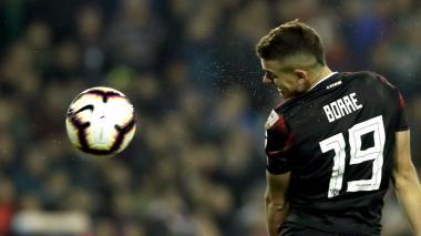 Rafael Santos Borré viene cumpliendo buenas actuaciones con el River Plate.