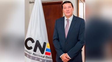 Hernán Penagos Giraldo, nuevo presidente CNE
