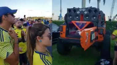 En video   Polémica por hinchas colombianos bailando 'guaracha' de Pablo Escobar en Miami