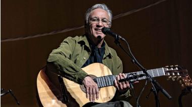 Caetano Veloso se presentará el sábado con su propuesta Ofertório.