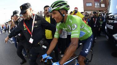 Nairo Quintana está optimista para lo que resta en la Vuelta a España