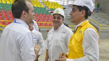 Ernesto Lucena, Pedrito Pereira y Dumek Turbay.