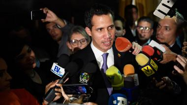 "Guaidó anuncia que el mecanismo de diálogo con Maduro ""se agotó"""