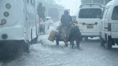 Aguacero cayó este lunes en diferentes sectores de Barranquilla y Soledad
