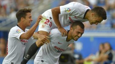 El Sevilla defiende su liderato contra un Real Madrid herido