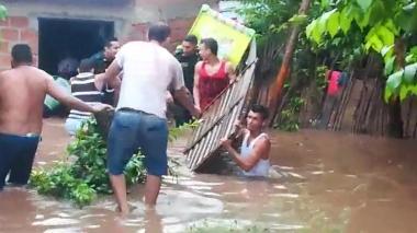 En video   Unas 400 familias resultan afectadas por inundación en Codazzi