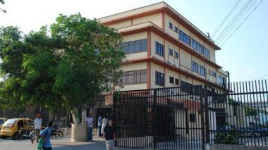 Instalaciones de Medicina Legal.