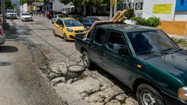"""En Chiquinquirá reclaman reparcheo de huecos """"de hace 25 años"""""""