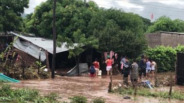 Declarada la calamidad en Codazzi por estragos del invierno