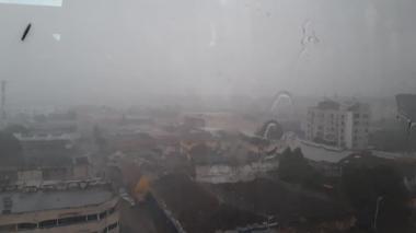 En  video | Torrencial aguacero cayó este martes en Barranquilla