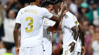 Real Madrid gana al son de los brasileños