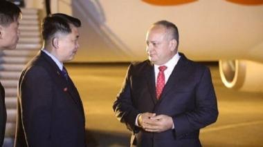Diosdado Cabello visita Corea del Norte y entrega a Kim Jong-Un un regalo a nombre de Maduro