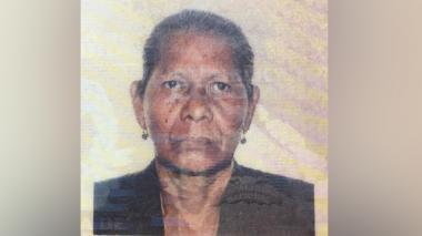 Bala perdida mata a mujer que intentaba proteger a tres nietos