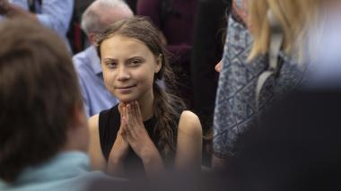 Greta Thunberg suena fuerte para ganar Nobel de Paz