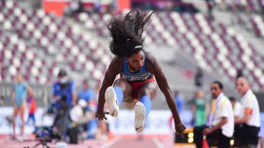 Caterine Ibargüen y Yulimar Rojas pasan a la final mundial de triple salto