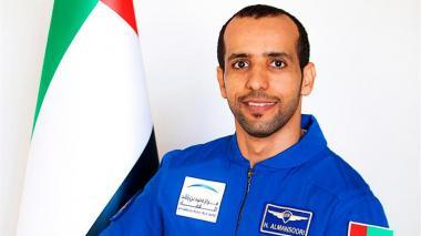 Regresa a la Tierra el primer astronauta emiratí