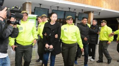 Hija de Aida Merlano es judicializada en Paloquemao
