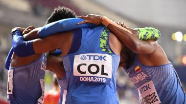Un cuarteto que se ganó los aplausos en Doha