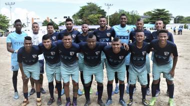 Nomina completa del equipo Old Parr, que inició el campeonato igualando 0-0 ante Memo